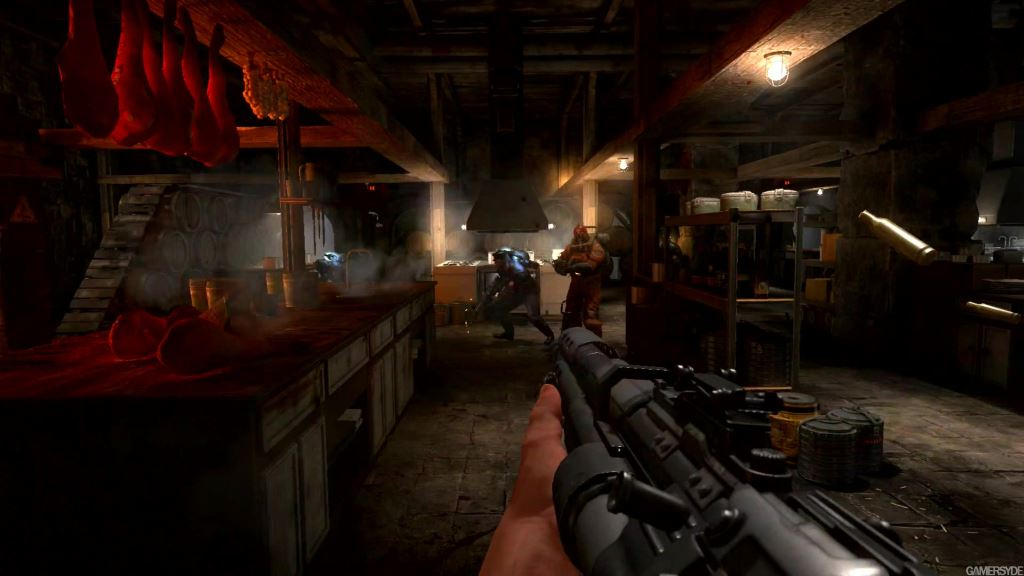 Wolfenstein The Old Blood gameplay