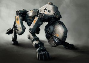Wolfenstein The Old Blood - Robot