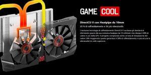 Asus GeForce GTX 950 Strix - Sistema di raffreddamento