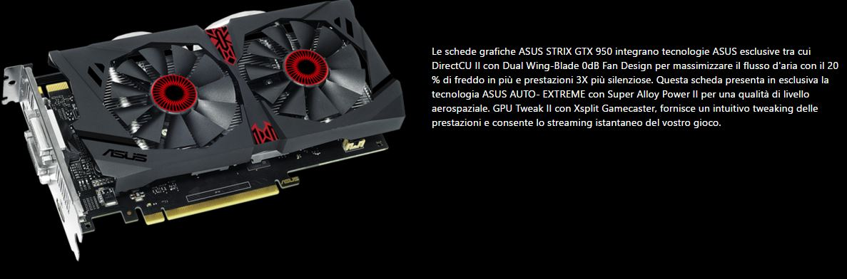 Asus GeForce GTX 950 Strix - Tecnologie