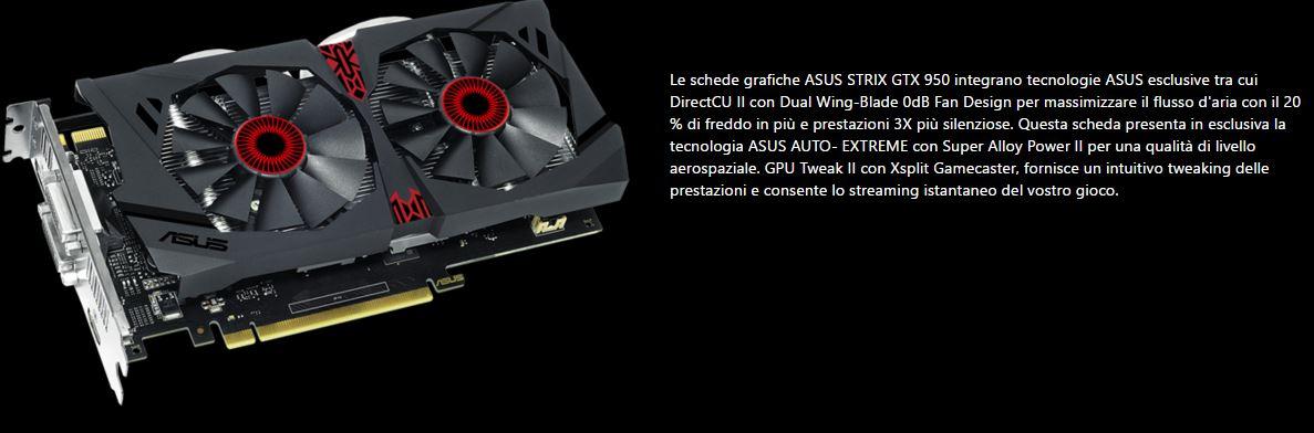 Asus GeForce GTX 950 Strix - Tecnologie