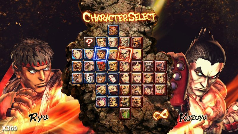 personaggi street fighter x tekken