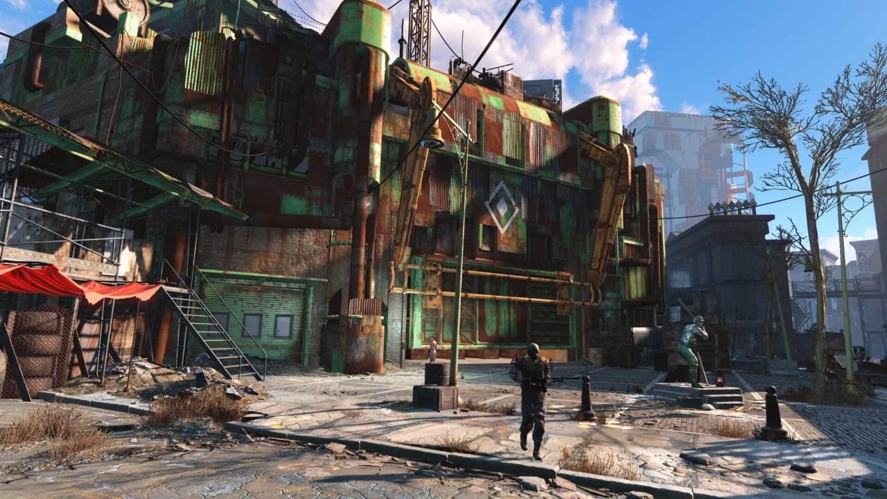 Spazi aperti in Fallout 4