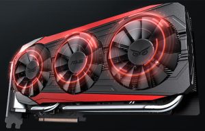 Asus GeForce GTX 980Ti Strix-ventole