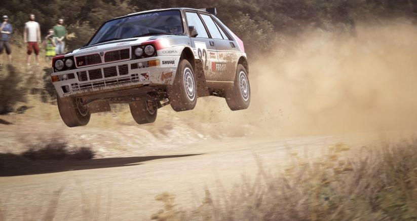 Dirt Rally Lancia Delta HF integrale