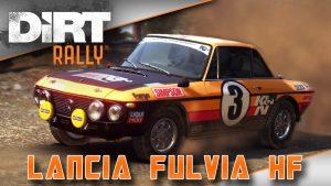 Dirt rally lancia fulvia HF