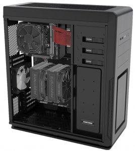 Phanteks Enthoo Mini Tower XL sistema Dual Chassis