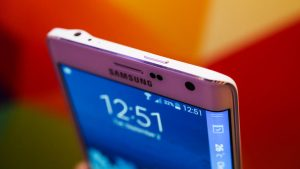 Samsung Galaxy Note Edge pulsanti