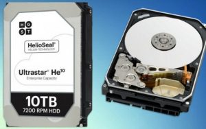 Western Digital UltraStar HE10 10TB 2