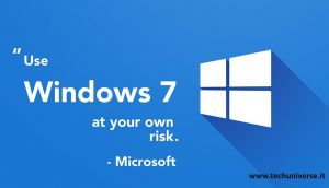 Avviso di Windows7
