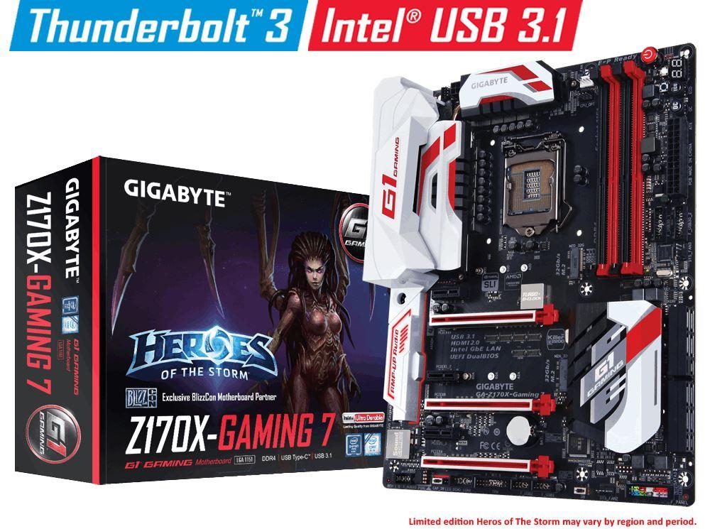 Gigabyte Z170X Gaming 7