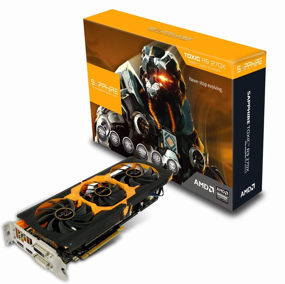Ati Sapphire R9 270X 2GB DDR5 Toxic - Clicca per ingrandire