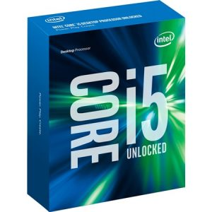 CPU Intel Core i5-6600K BOX 3,90GHz 6M Cache FC-LGA14C 1151S