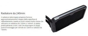 Corsair H100i v2 - Il radiatore