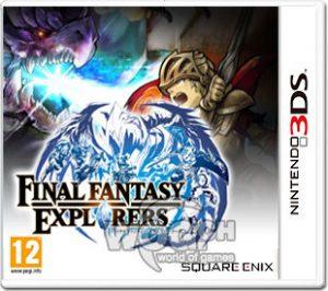 Final Fantasy Explorer 3DS