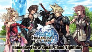 Final Fantasy Explorers - Clicca per ingrandire