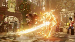 Street Fighter V - Bellissimi effetti grafici