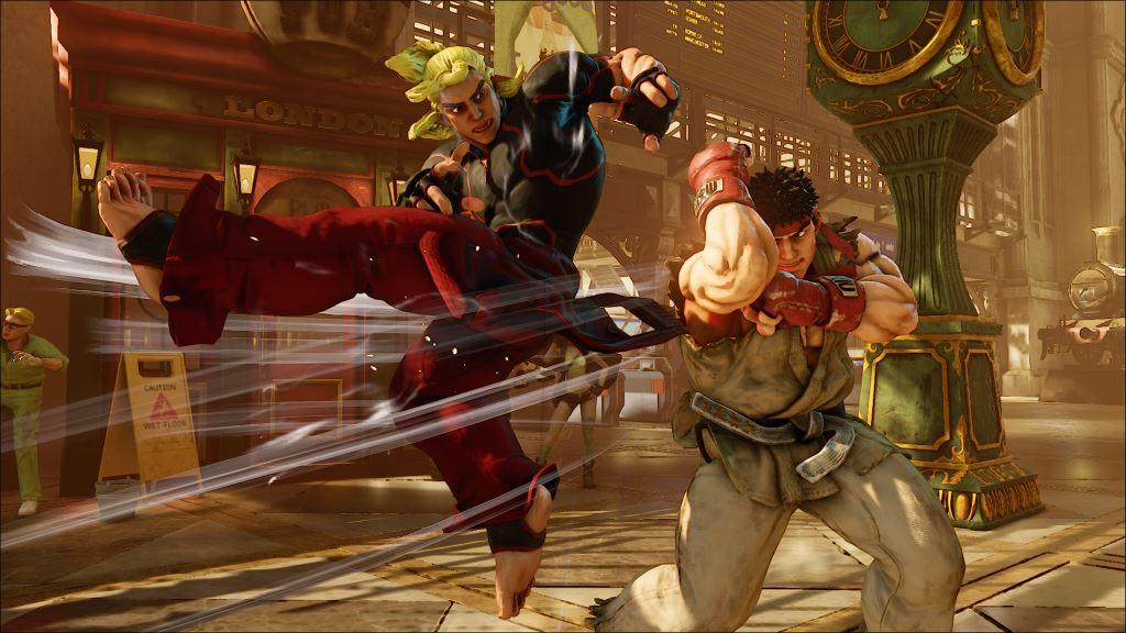 Street Fighter V - Ken vs Ryu - Clicca sull'immagine per ingrandire