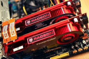 AMD Crossfire di due schede video