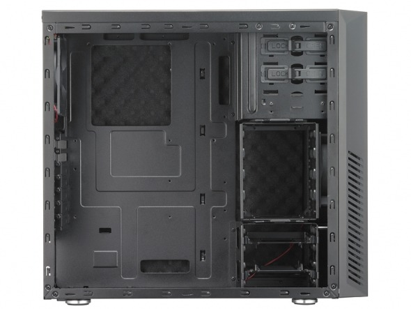 Cooler Master Silencio 550 - Interno - Clicca per ingrandire