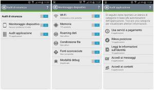 Monitoraggio del dispositivo e verifica delle applicazione
