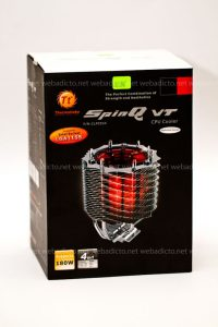 Thermaltake SpinQ VT - La scatola