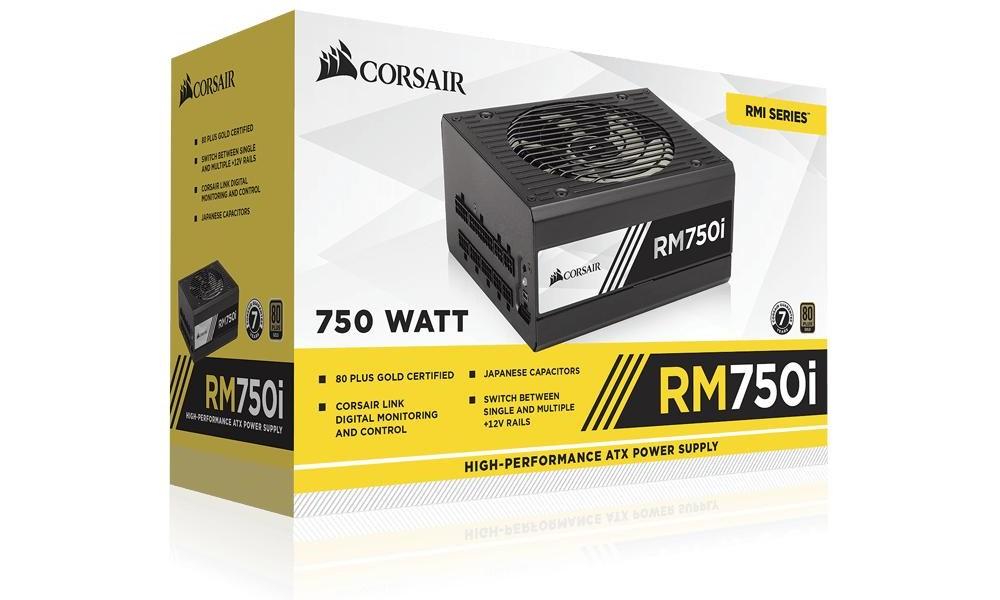 Corsair RM750i - La scatola