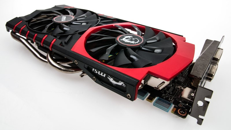 IMG GeForce Gaming 970 - Le ventole
