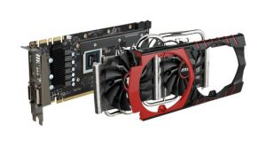 MSI GeForce GTX 970 Gaming - Smontata