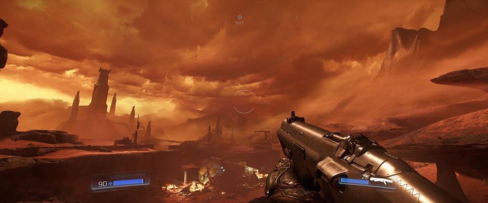Doom paesaggio