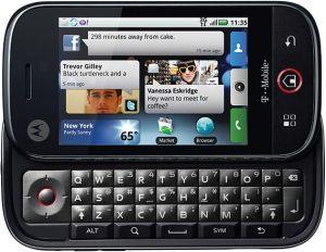 Motorola Cliq 2.1
