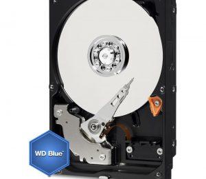 Western Digital 1Tb Blu - La meccanica