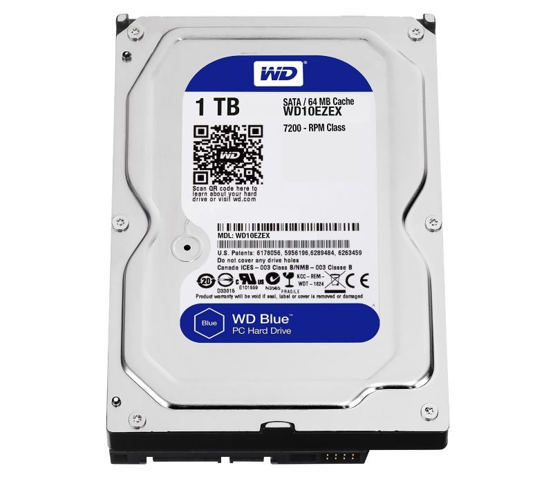Western Digital 1TB Blu su Amazon