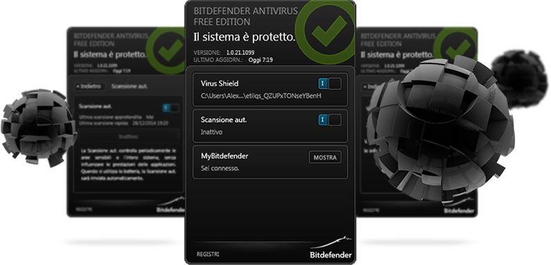 I miglior antivirus gratis e a pagamento: Bitdefender è uno dei migliori.
