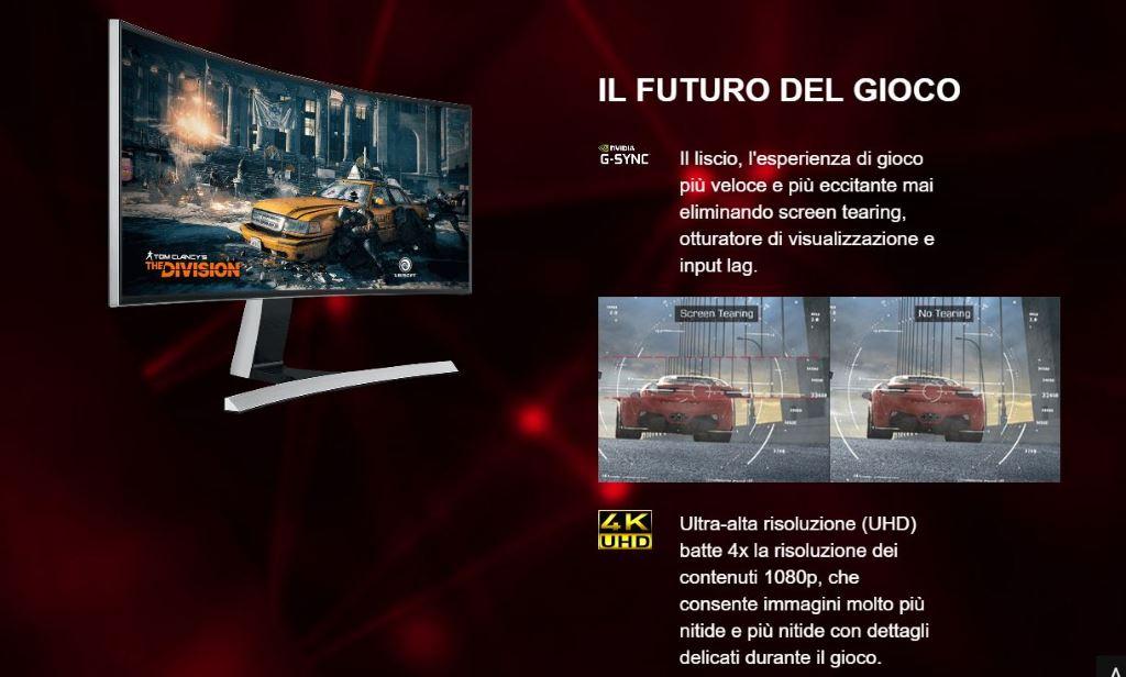 MSI GeForce GTX 1070 Gaming X 8G - 4K UHD - Clicca per ingrandire