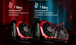MSI GeForce GTX 1070 Gaming X 8G - Temperature - Clicca per ingrandire