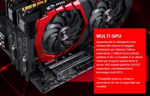 MSI GeForce GTX 1070 - SLI - Clicca per ingrandire