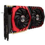 Veduta laterale GeForce GTX 1080