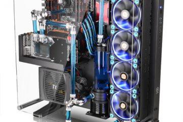 Montaggio sistema di raffreddamento PC
