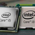 Processori i3 e i5 a confronto