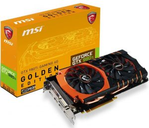 MSI GeForce GTX 980 TI Golden Edition