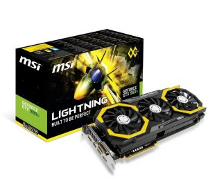 MSI NVIDIA GeForce GTX 980TI Lighting