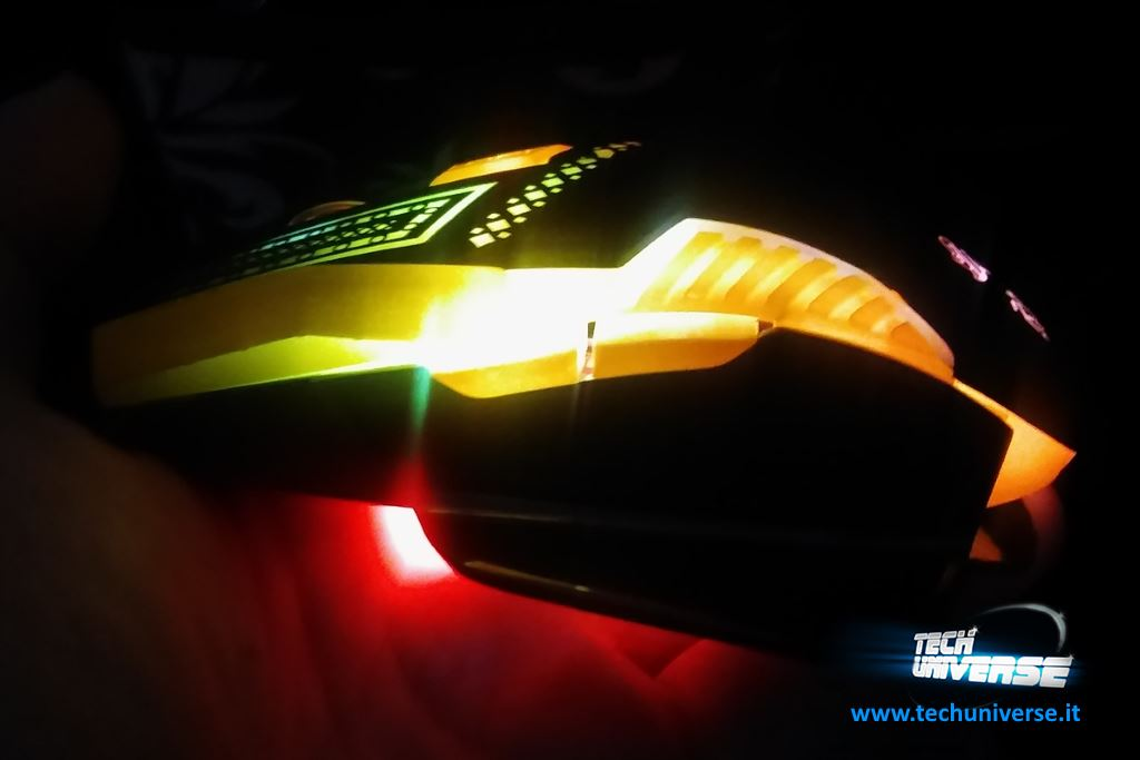 Illuminazione mouse gaming