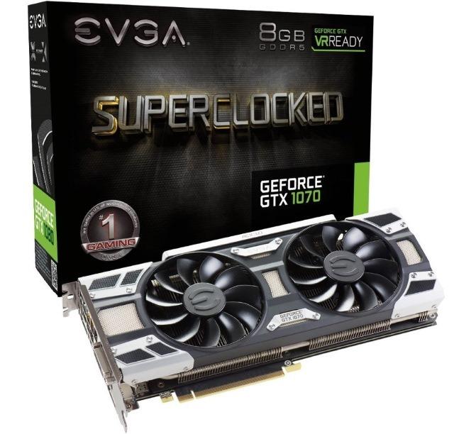 EVGA NVIDIA GeForce GTX 1070 8GB