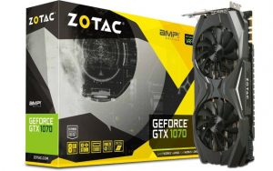 Zotac NVIDIA GeForce GTX 1070 AMP 8GB