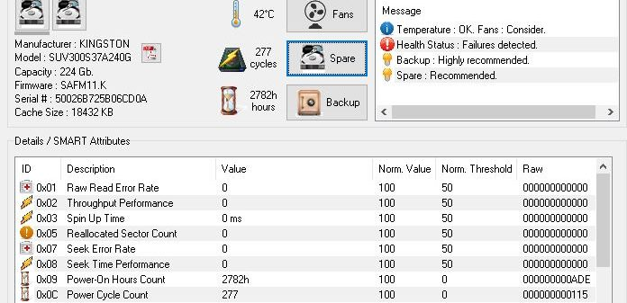 HDD Expert: Test SSD