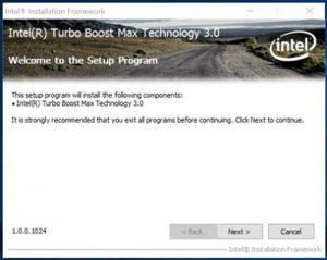 Intel turbo
