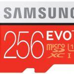 Samsung EVO + 256GB
