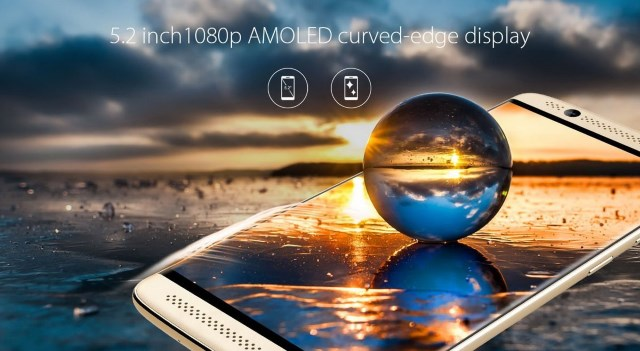 Display AMOLED da 5,2 pollici curvo