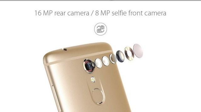Fotocamera 16 MP e fotocamera frontale per selfie